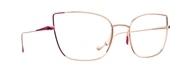 Selecteer om een bril te kopen of de foto te vergroten, Caroline Abram VEGAS-PG-OR-ROSE.