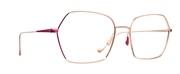Selecteer om een bril te kopen of de foto te vergroten, Caroline Abram VOLCANE-PG-OR-ROSE.