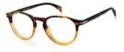 Selecteer om een bril te kopen of de foto te vergroten, David Beckham DB1018-2OK.