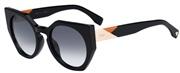 Selecteer om een bril te kopen of de foto te vergroten, Fendi FF0151S-807JJ.