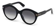 Selecteer om een bril te kopen of de foto te vergroten, TomFord FT0661-01B.