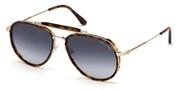 Selecteer om een bril te kopen of de foto te vergroten, TomFord FT0666-54W.