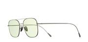 Selecteer om een bril te kopen of de foto te vergroten, Cutler and Gross 1267-PalladiumPlatedGreenLens.