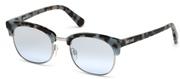 Selecteer om een bril te kopen of de foto te vergroten, Just Cavalli JC778S-55C.