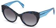 Selecteer om een bril te kopen of de foto te vergroten, Just Cavalli JC789S-55B.