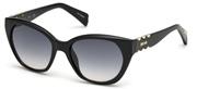 Selecteer om een bril te kopen of de foto te vergroten, Just Cavalli JC822S-01B.