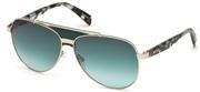 Selecteer om een bril te kopen of de foto te vergroten, Just Cavalli JC827S-96P.