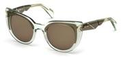 Selecteer om een bril te kopen of de foto te vergroten, Just Cavalli JC834S-93J.