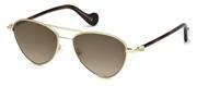 Selecteer om een bril te kopen of de foto te vergroten, Moncler Lunettes ML0058-32G.