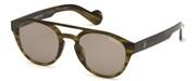 Selecteer om een bril te kopen of de foto te vergroten, Moncler Lunettes ML0075-47J.