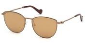 Selecteer om een bril te kopen of de foto te vergroten, Moncler Lunettes ML0085-34G.