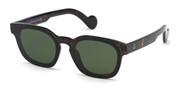 Selecteer om een bril te kopen of de foto te vergroten, Moncler Lunettes ML0086-52N.