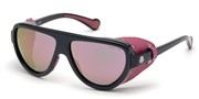 Selecteer om een bril te kopen of de foto te vergroten, Moncler Lunettes ML0089-01Z.