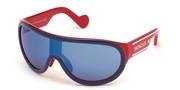 Selecteer om een bril te kopen of de foto te vergroten, Moncler Lunettes ML0106-92C.