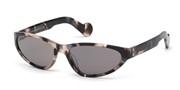 Selecteer om een bril te kopen of de foto te vergroten, Moncler Lunettes ML0115-55C.