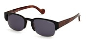 Selecteer om een bril te kopen of de foto te vergroten, Moncler Lunettes ML0125-53V.