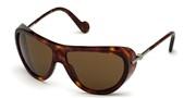 Selecteer om een bril te kopen of de foto te vergroten, Moncler Lunettes ML0128-52E.