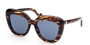 Selecteer om een bril te kopen of de foto te vergroten, Moncler Lunettes ML0139-56X.