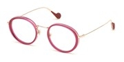 Selecteer om een bril te kopen of de foto te vergroten, Moncler Lunettes ML5058-075.