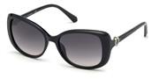 Selecteer om een bril te kopen of de foto te vergroten, Swarovski Eyewear SK0219-01B.